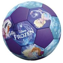 Frozen soccer ball