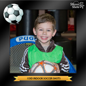 3 year old soccer player
