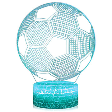 3D illusion soccer ball