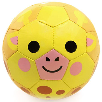Jimmy Giraffe toddler soccer ball