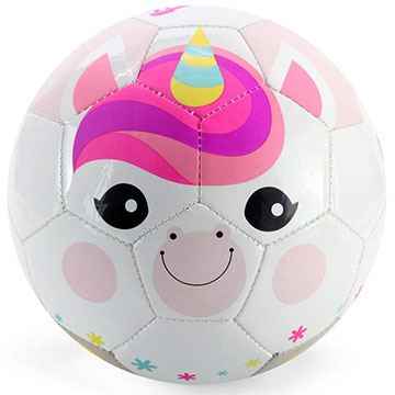 Sunshine unicorn toddler soccer ball