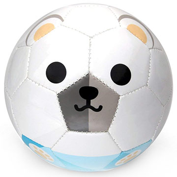 polar bear toddler soccer ball