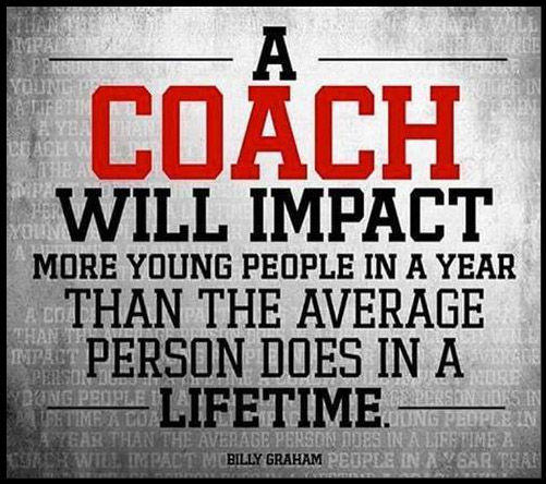 Soccer coaches impact kids positively