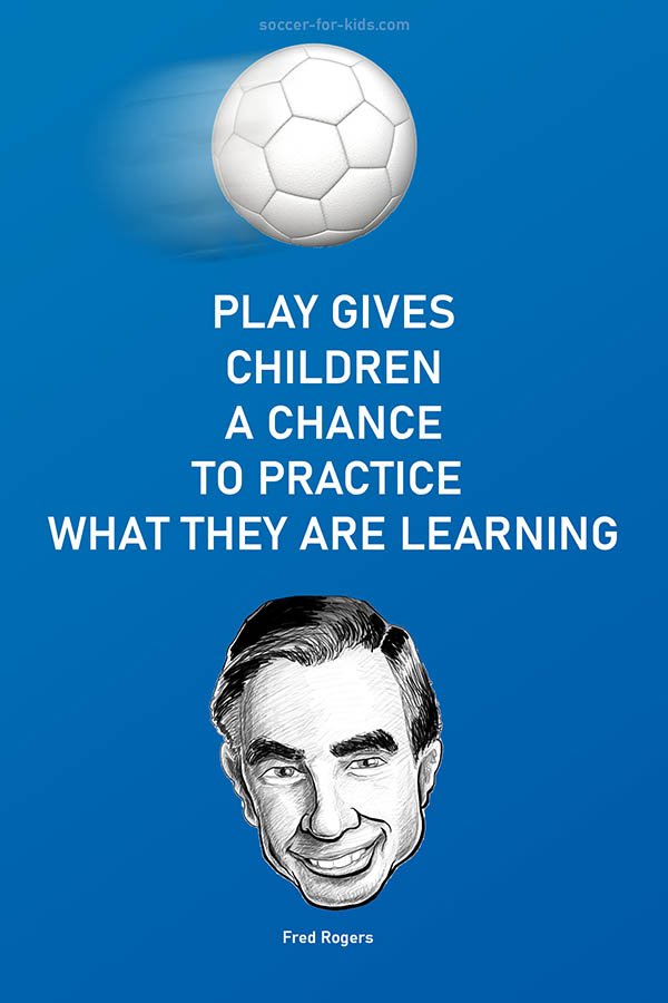 Fred Rogers play learning quote