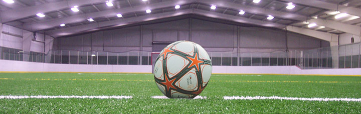 Youth soccer indoor arena