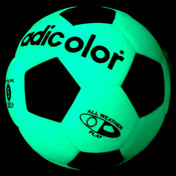 luminous soccer ball