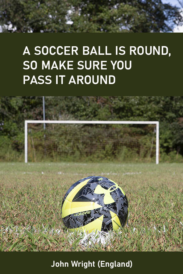 soccer ball quote