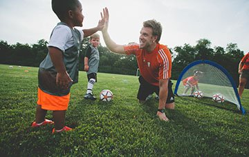 Kids benefit from soccer