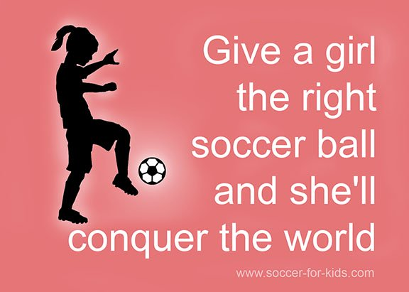 message for girl soccer players