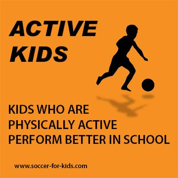 Social graphic-school benefits of soccer for kids