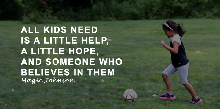 Soccer girl hope quote