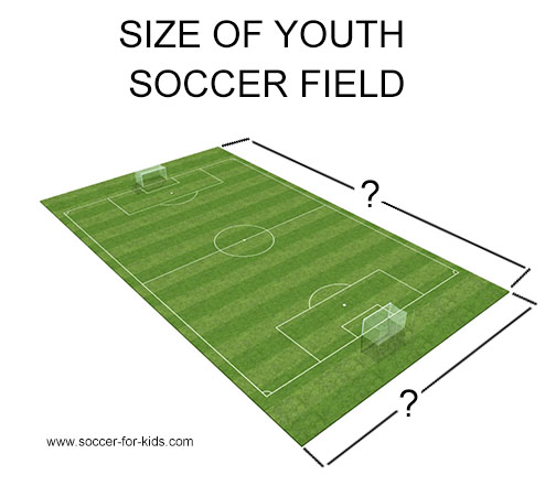 youth soccer field size diagram